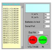 Battery Tester Software