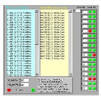 Battery software screen