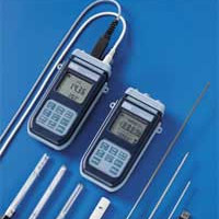 Conductivity meter Thermometer.