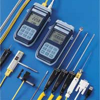 Digital thermocouple thermometer. HD2128