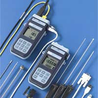 Pt100 thermocouple digital thermometer.