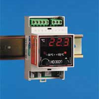 Digital LED ON/OFF temperature regulator