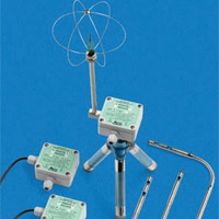 Hot wire air speed transmitter
