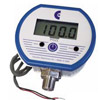 Low voltage powered pressure gauge