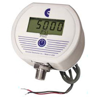 NEMA 4X Low voltage powered pressure gauge. F4AD