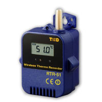 Temperature Data Logger with internal sensor