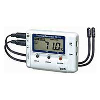 TR-71U temperature data logger with USB
