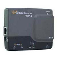 WDR-3 network connected data logger.